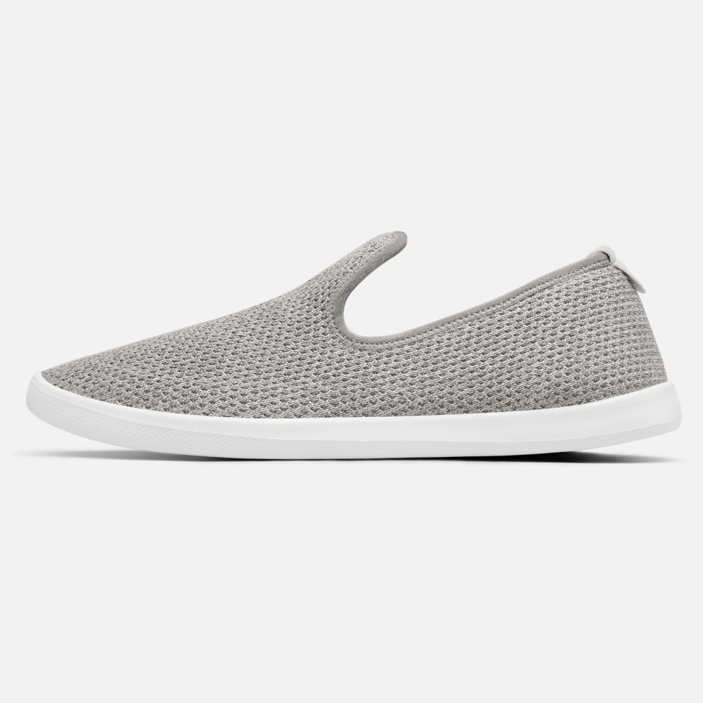 Allbirds Tree Loungers in Fog (White Sole)