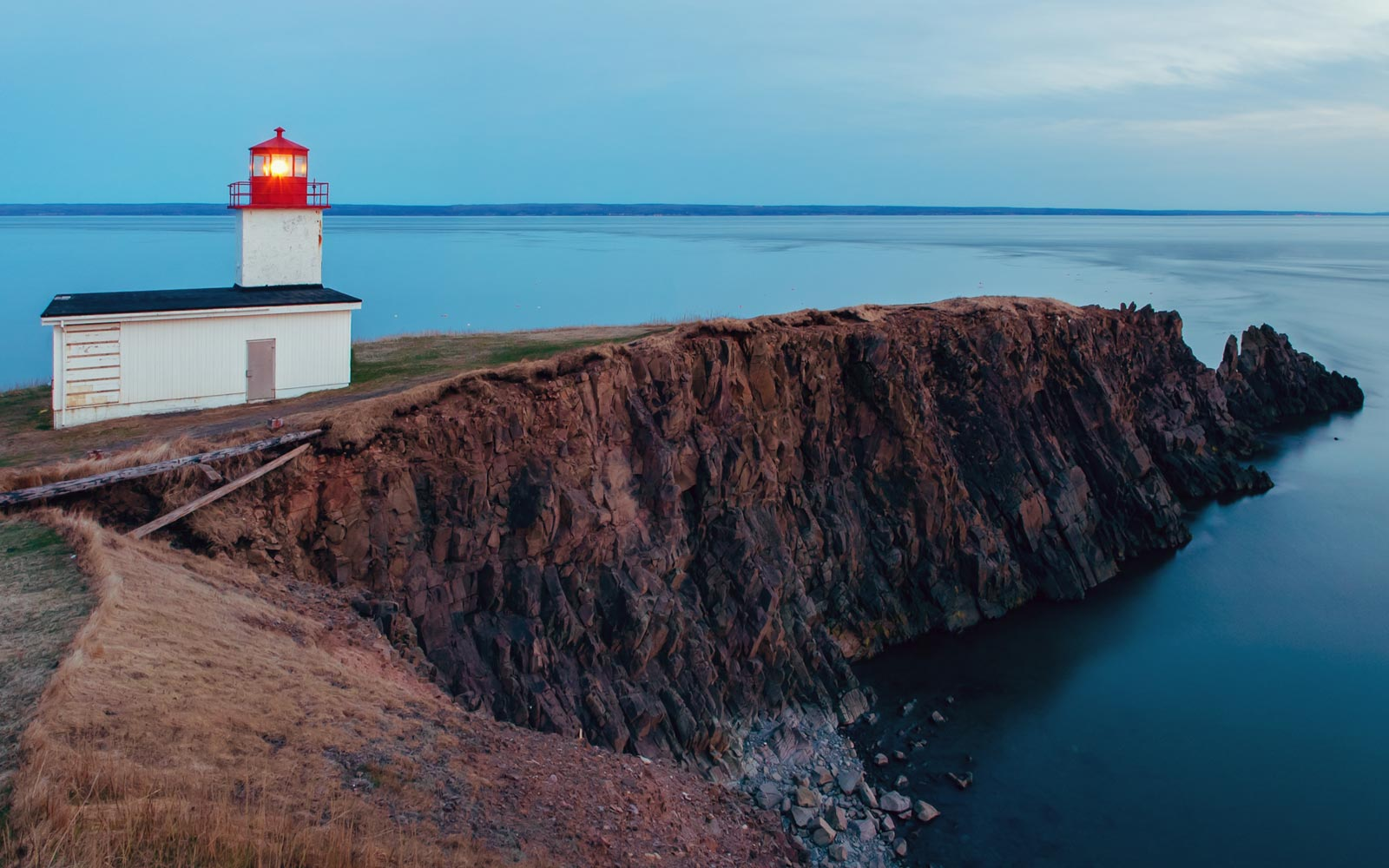 The Lighthouse on Cape d'Or, Canada