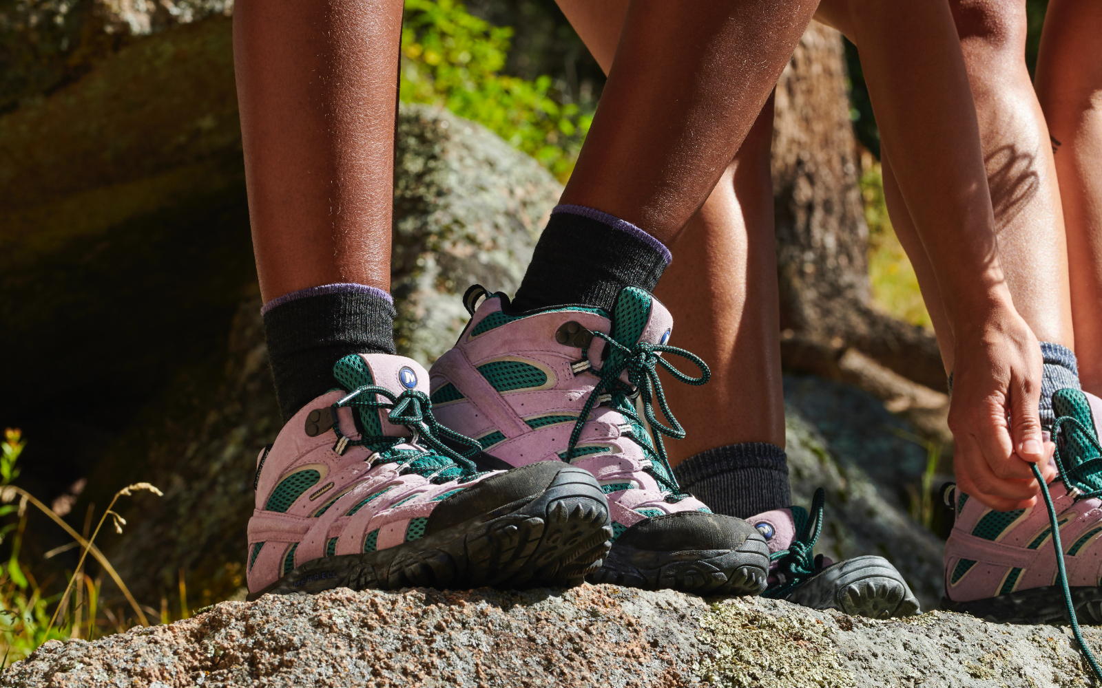 Merrell Outdoor Voices Collaboration Moab Hiking Boots