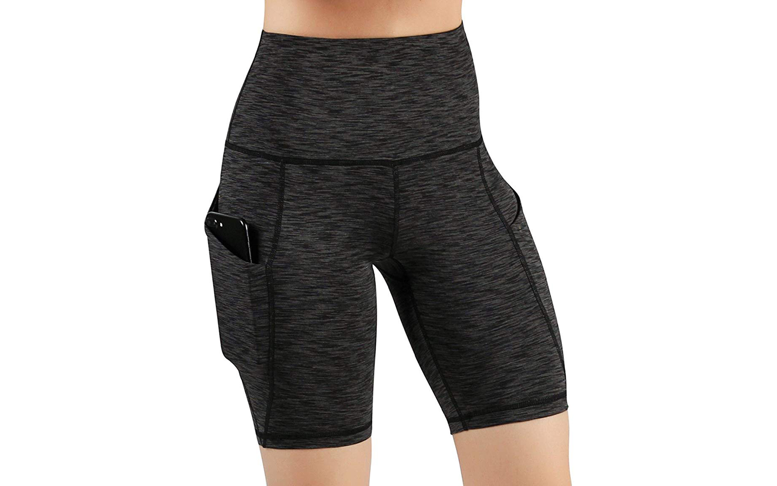 ODODOS High Waist Out Pocket Yoga Short