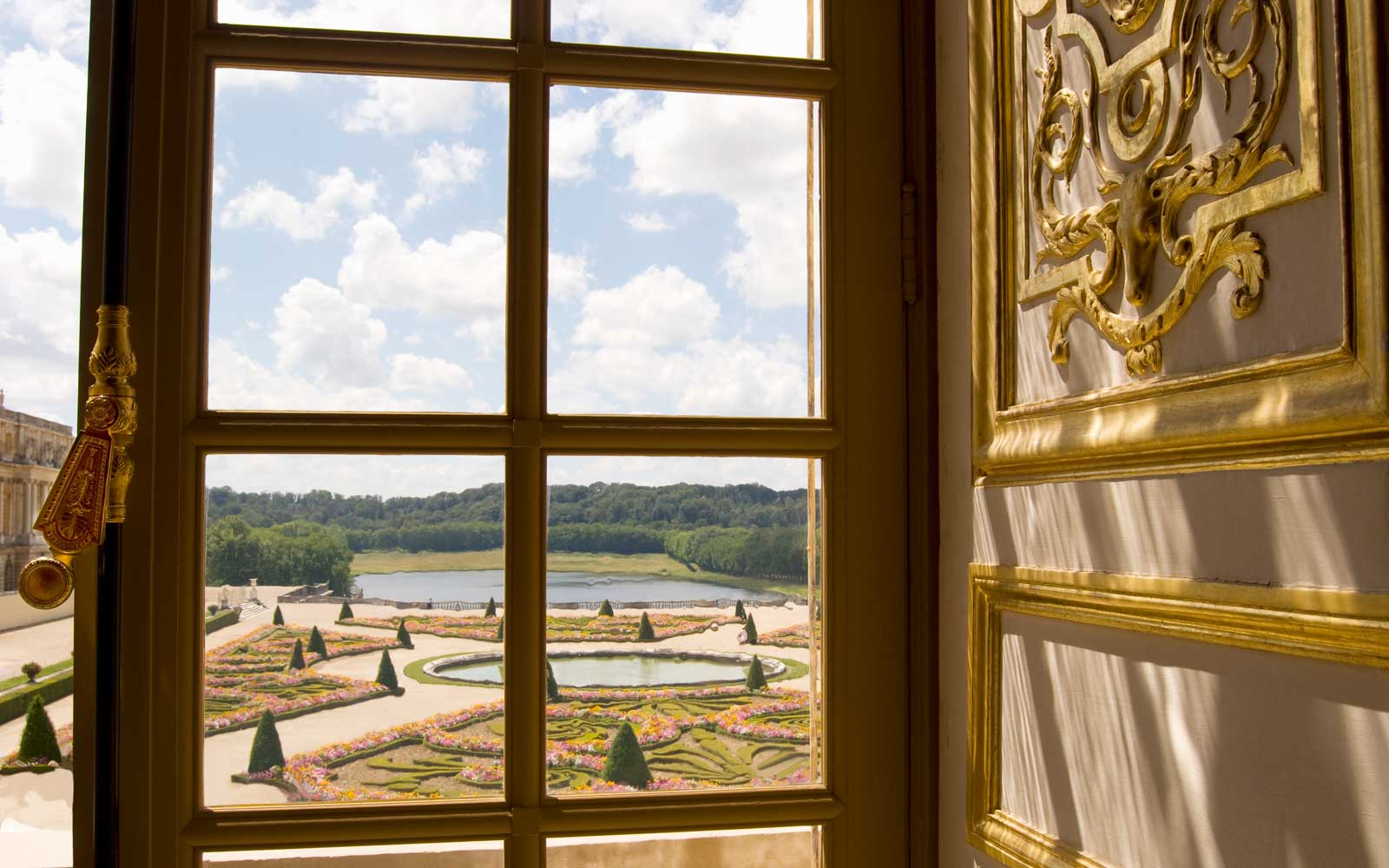 View from Palace of Versailles