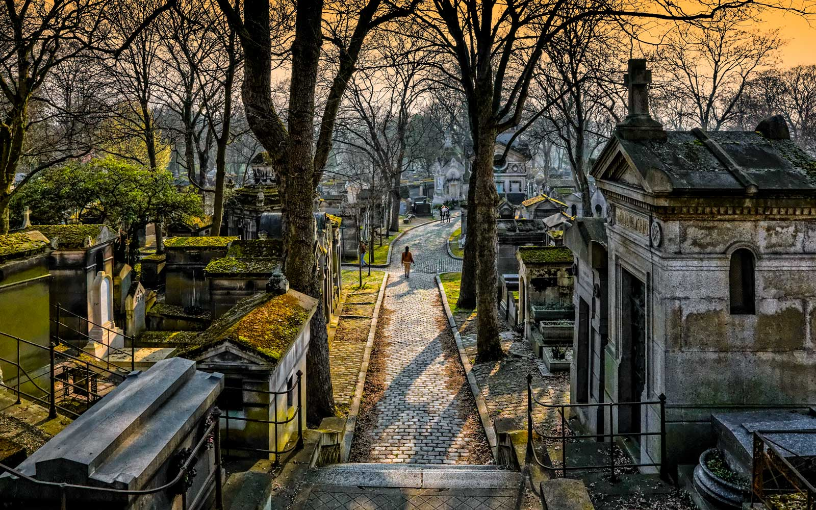 Pere Lachaise Cementary in Paris, France