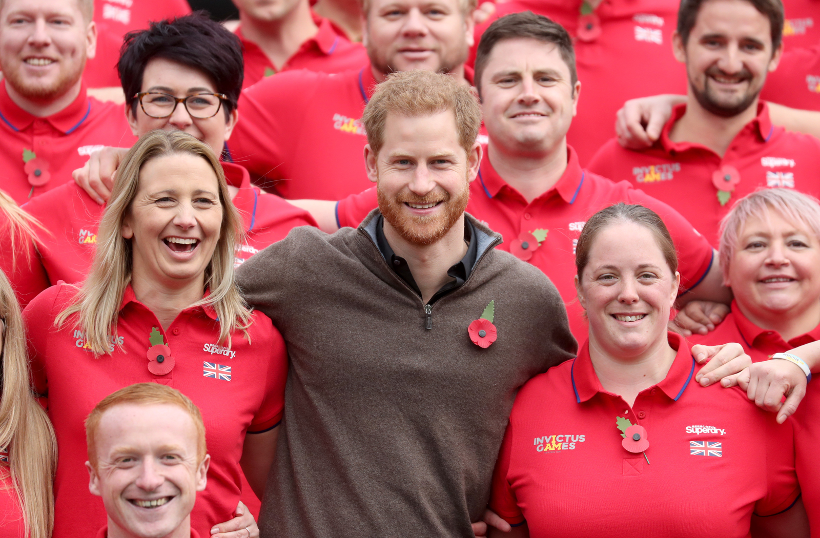 Prince Harry and Invictus Games guests