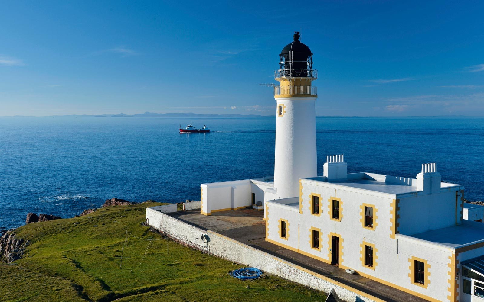 Rua Reidh Lighthouse, Scotland