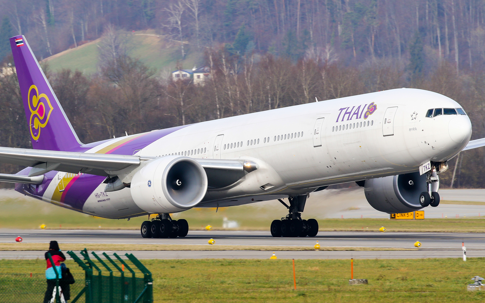 Thai Airways Boeing 777-300ER aircraft