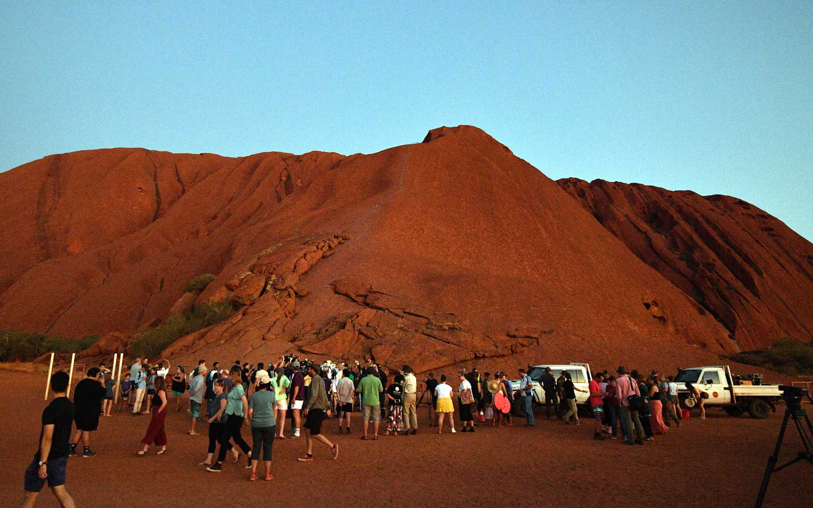 Australia's Uluru was permanently closed to climbers October 25