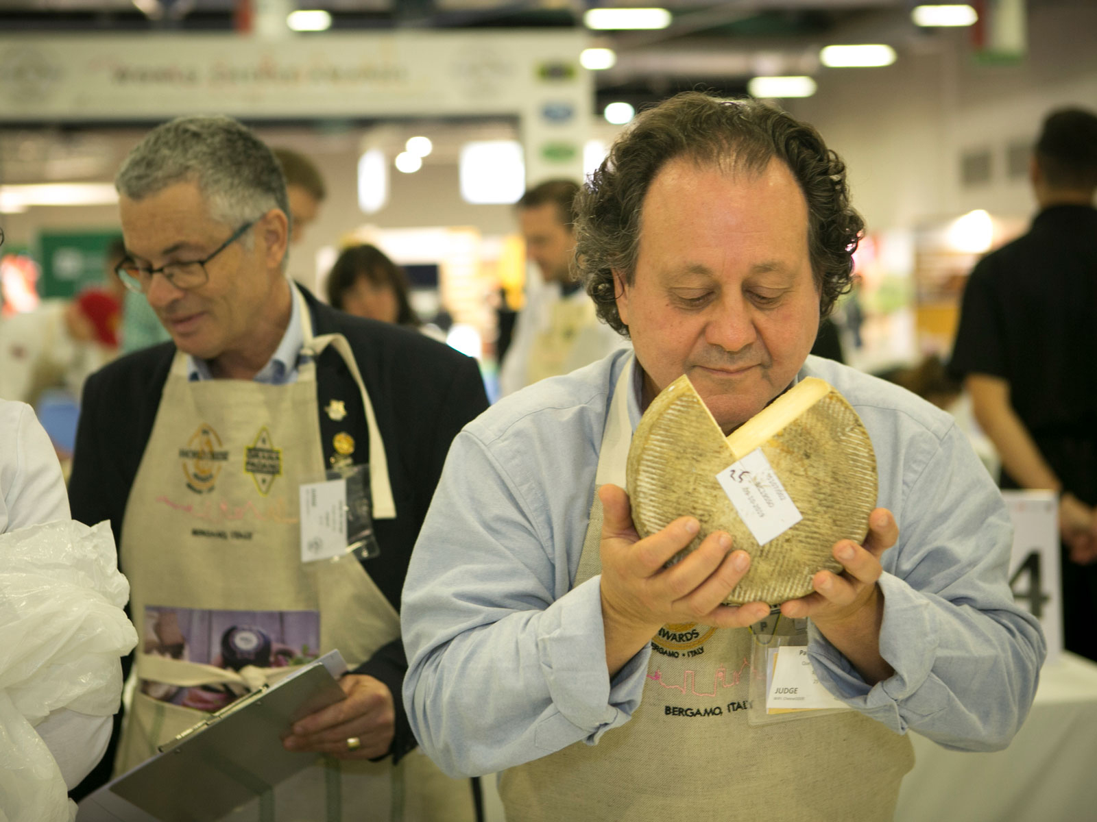 Judge at the World Cheese Awards