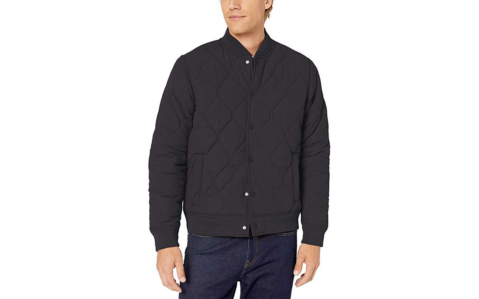 Black Men's Bomber Jacket