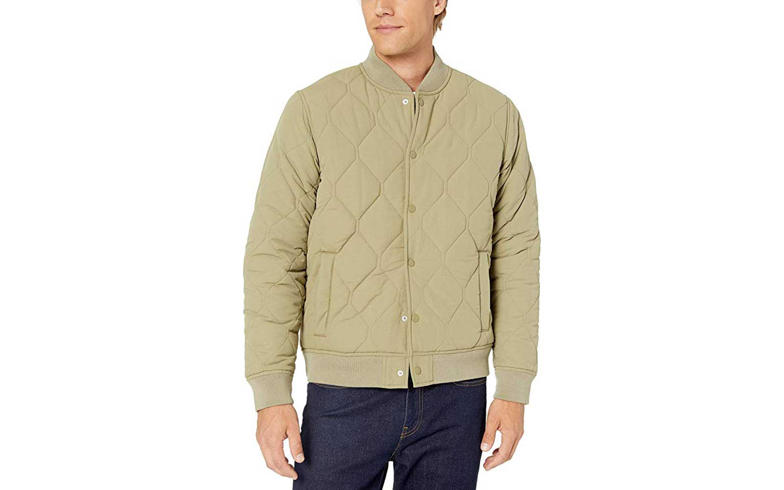 Men's Green Bomber Jacket