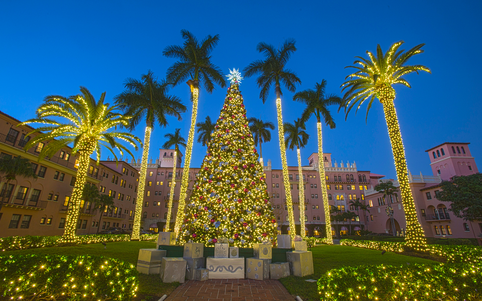 Boca Raton Resort & Club Christmas