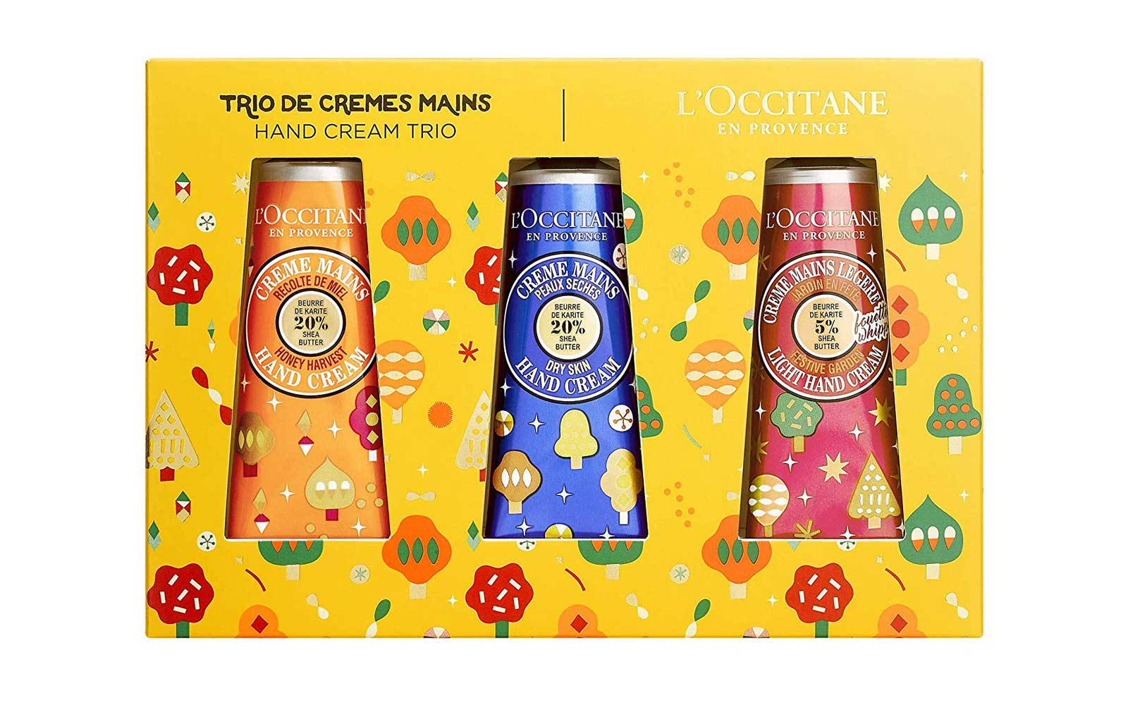 Loccitane Hand Cream Set