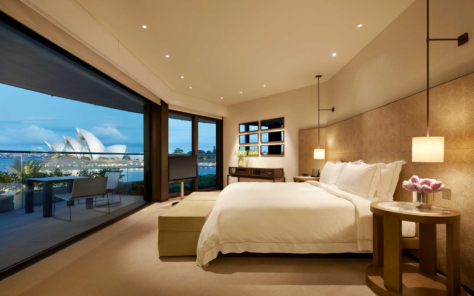 A room at the Park Hyatt Sydney hotel