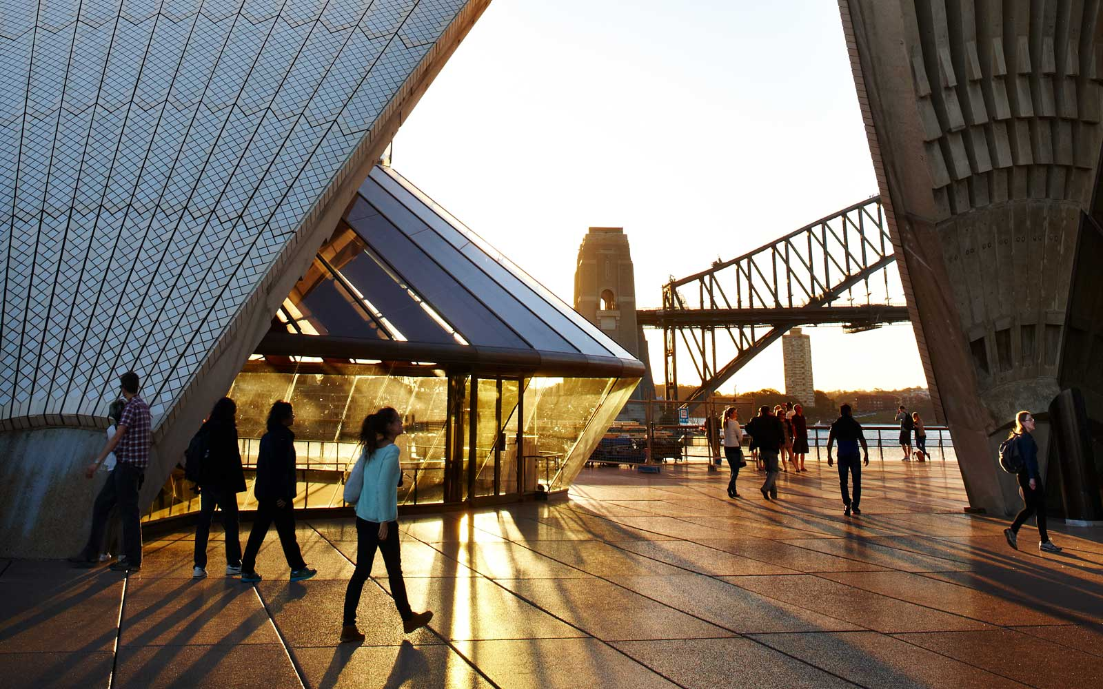Sydney Opera House and Harbour Bridge, Sydney, Australia