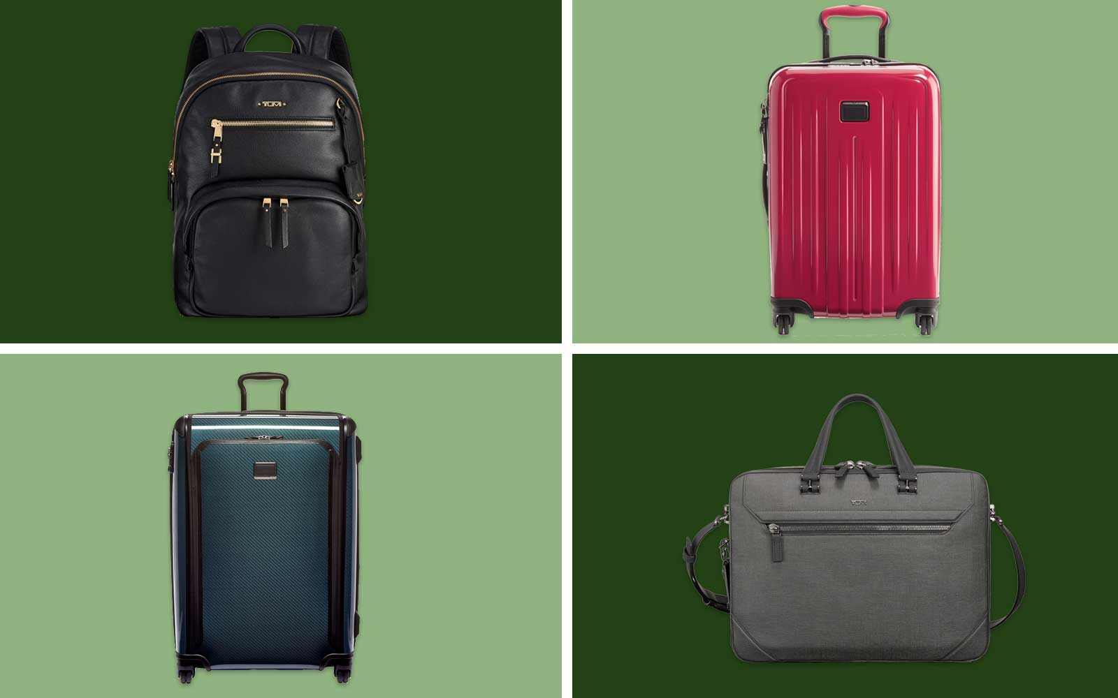 Tumi Suitcases, Backpacks, and Briefcase