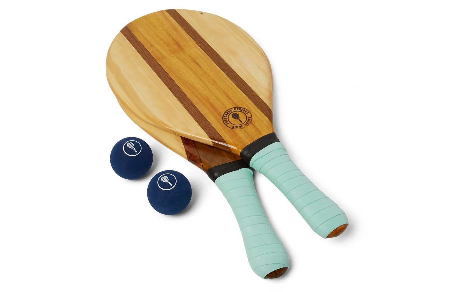 Wooden Beach Ball and Bat Set