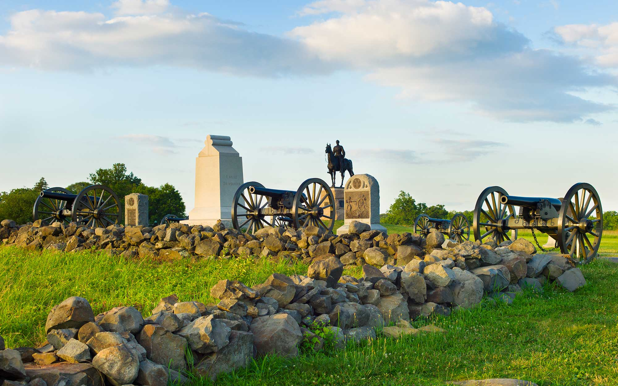 Gettysburg National Military Park in Pennsylvania
