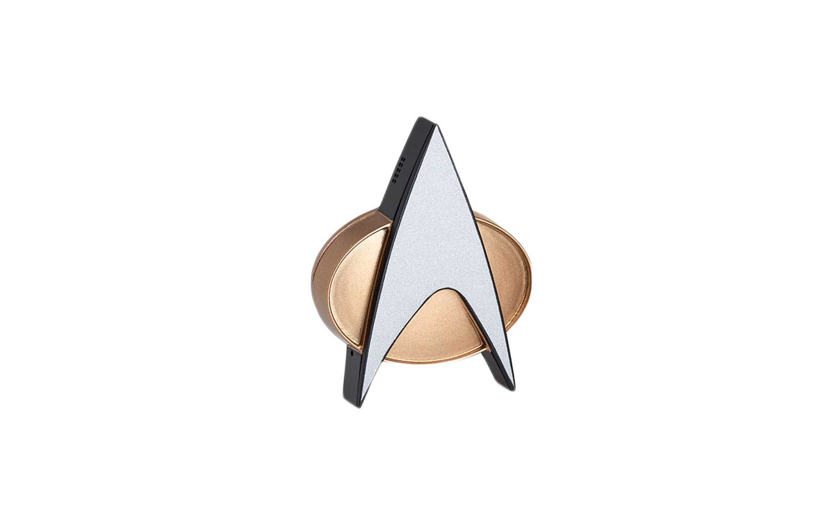 Star Trek Bluetooth Com Badge