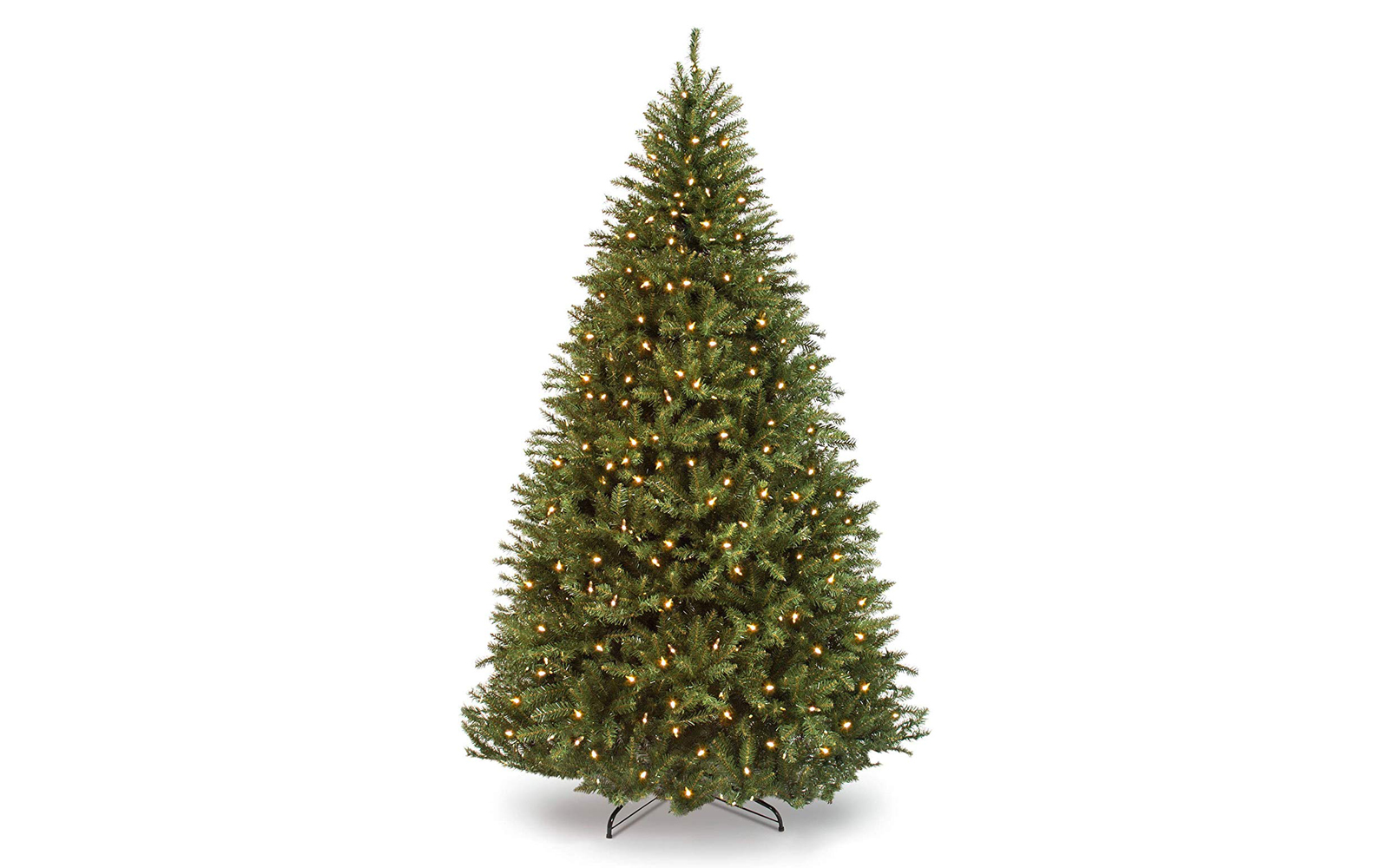 Best Choice Products 6ft Pre-Lit Hinged Douglas Full Fir Artificial Christmas Tree