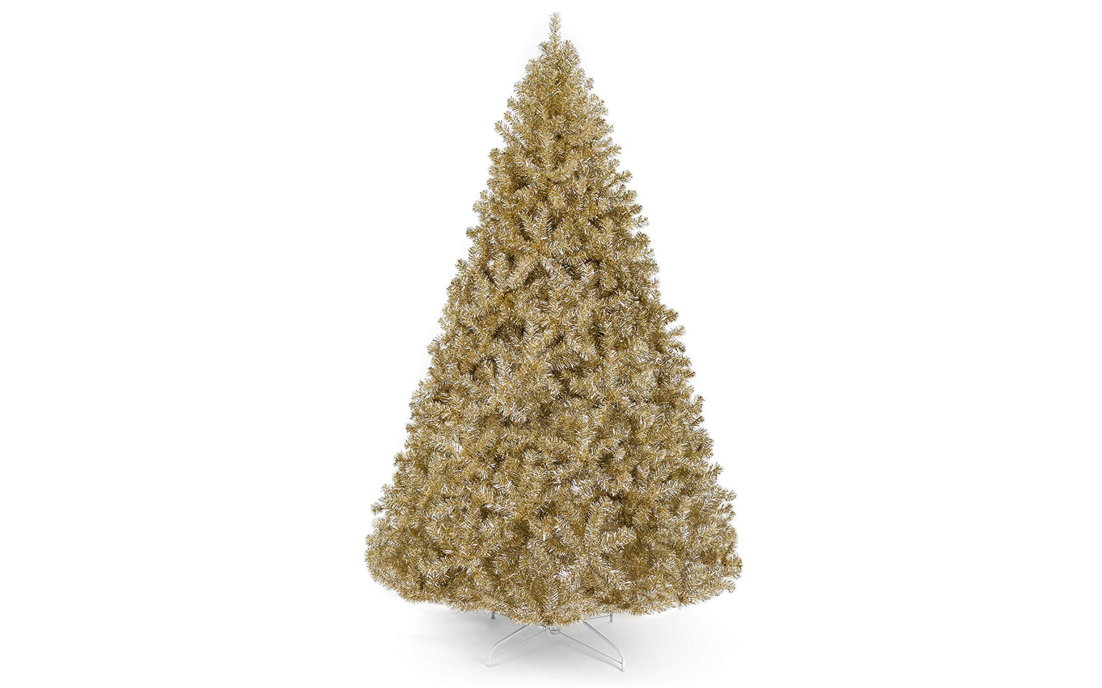 Best Choice Products 6ft Artificial Tinsel Christmas Tree