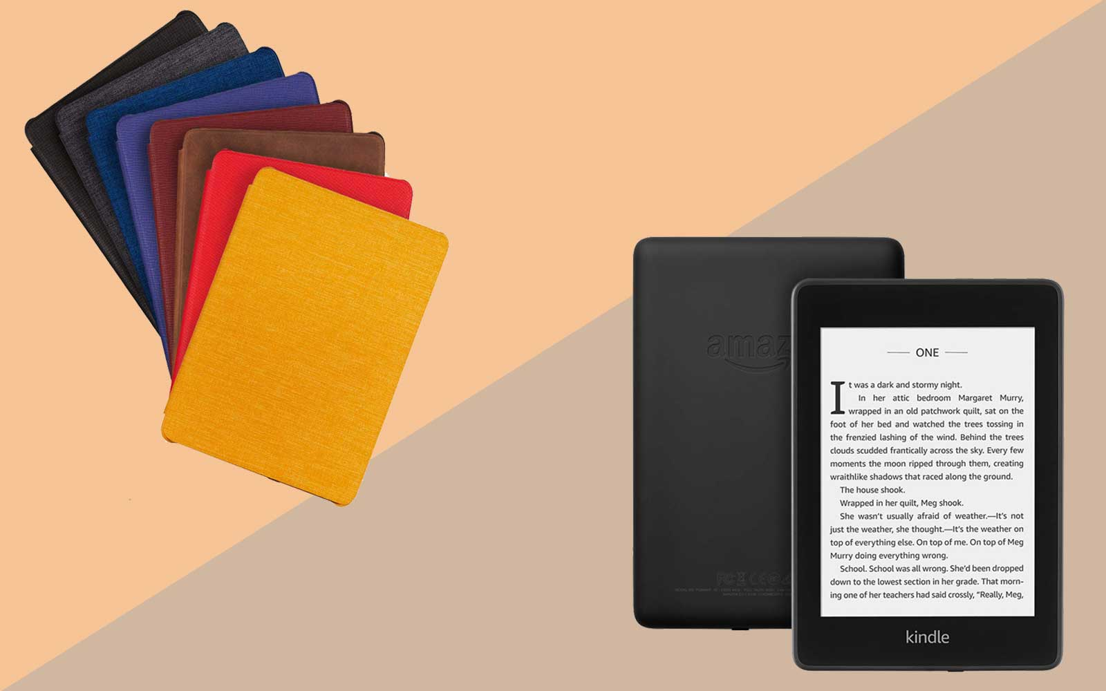 Amazon Kindle Paperwhite and Cases