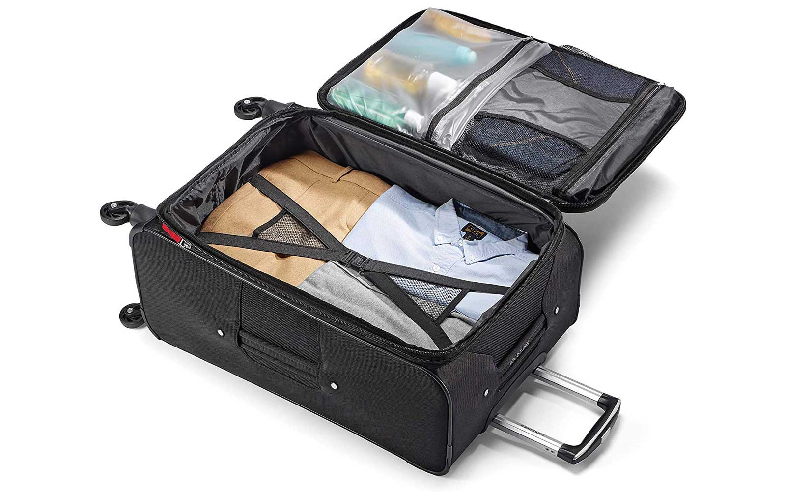 Samsonite Suitcase Interior