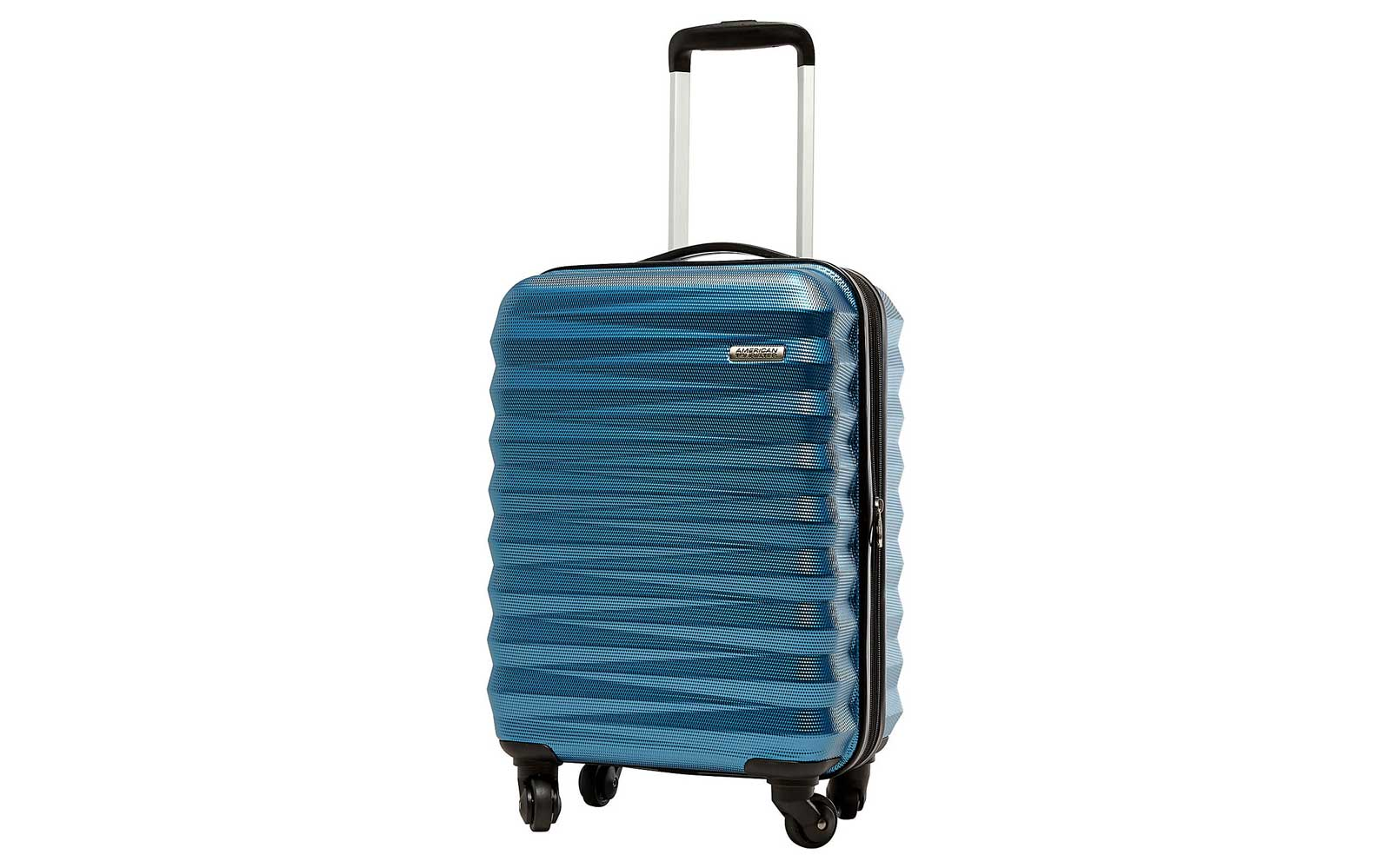 Blue American Tourister Hardside Carry-on Suitcase