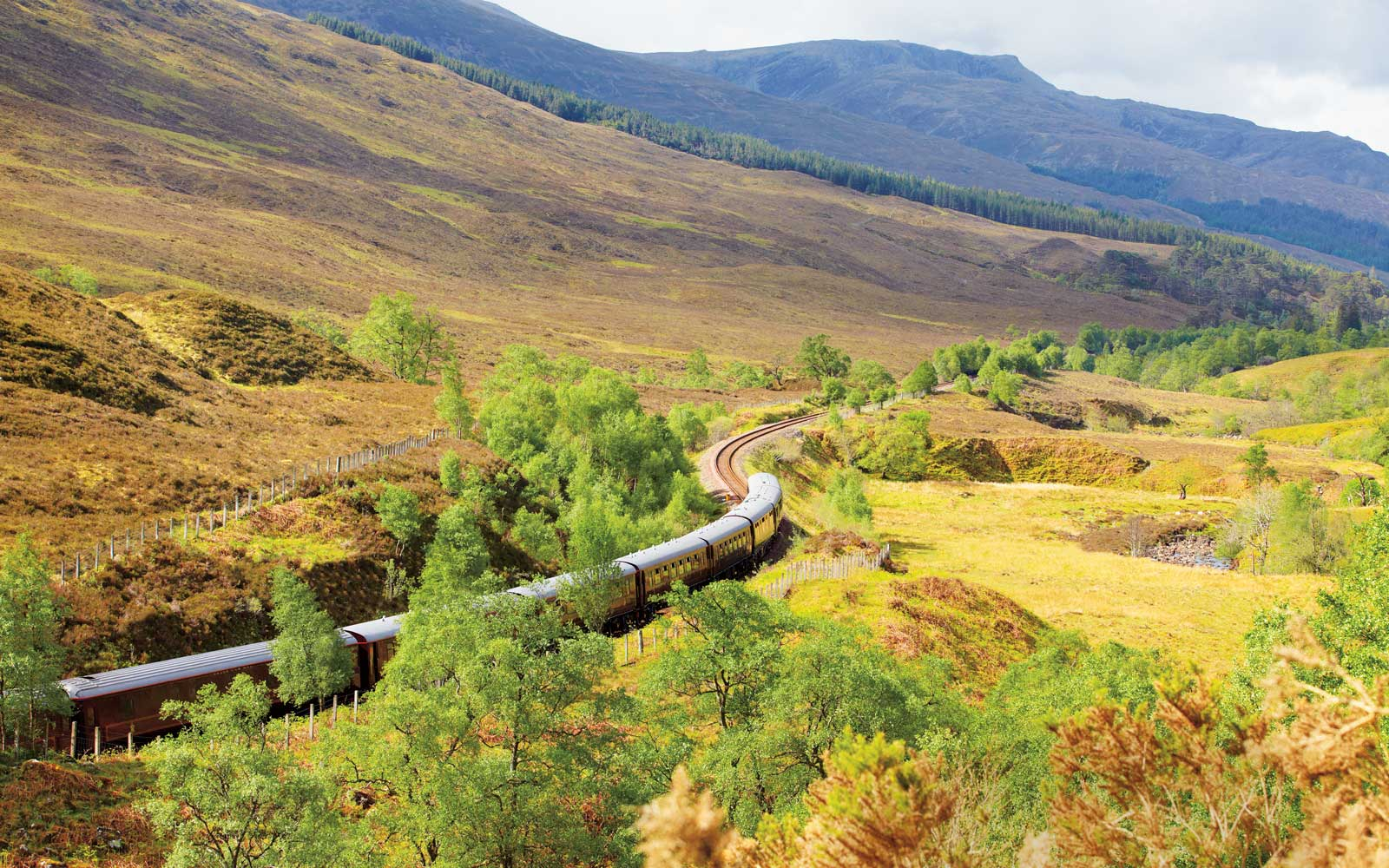 Belmond's Royal Scotsman luxury train