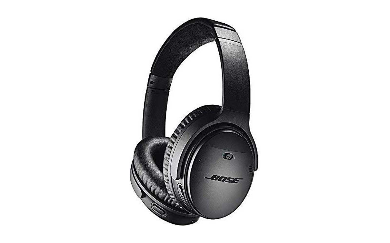 Black Bose Over the Ear Headphones