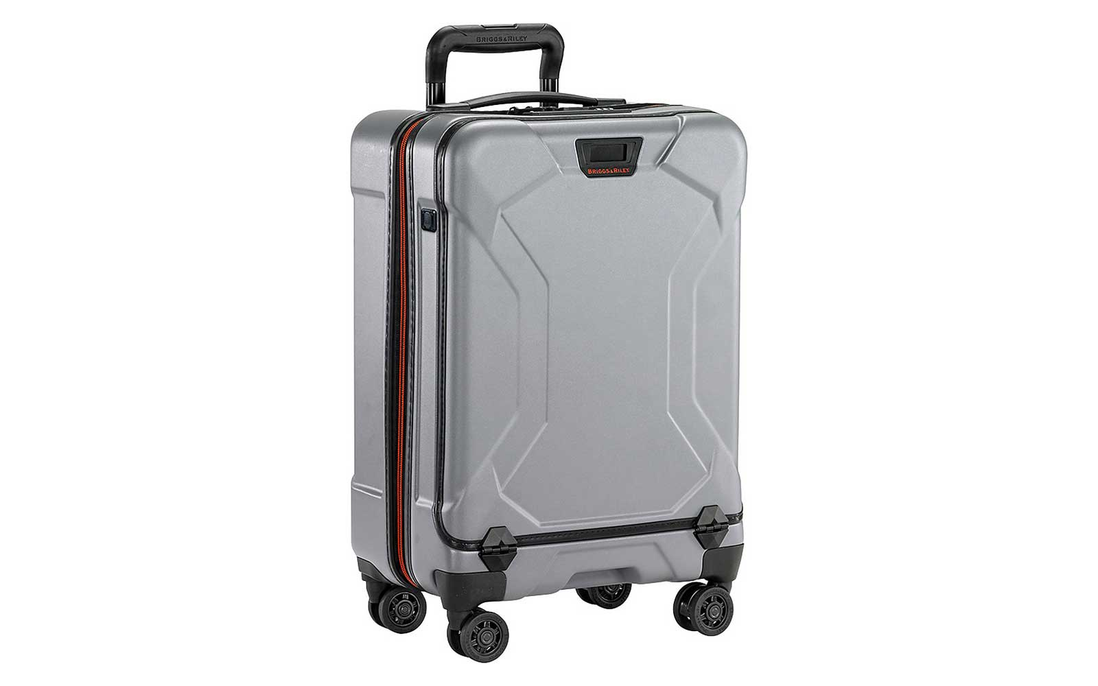 Silver Briggs and Riley Hardside Carry-on Suitcase