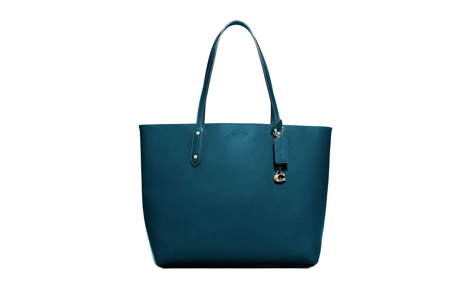 Central Tote in Peacock/Gold