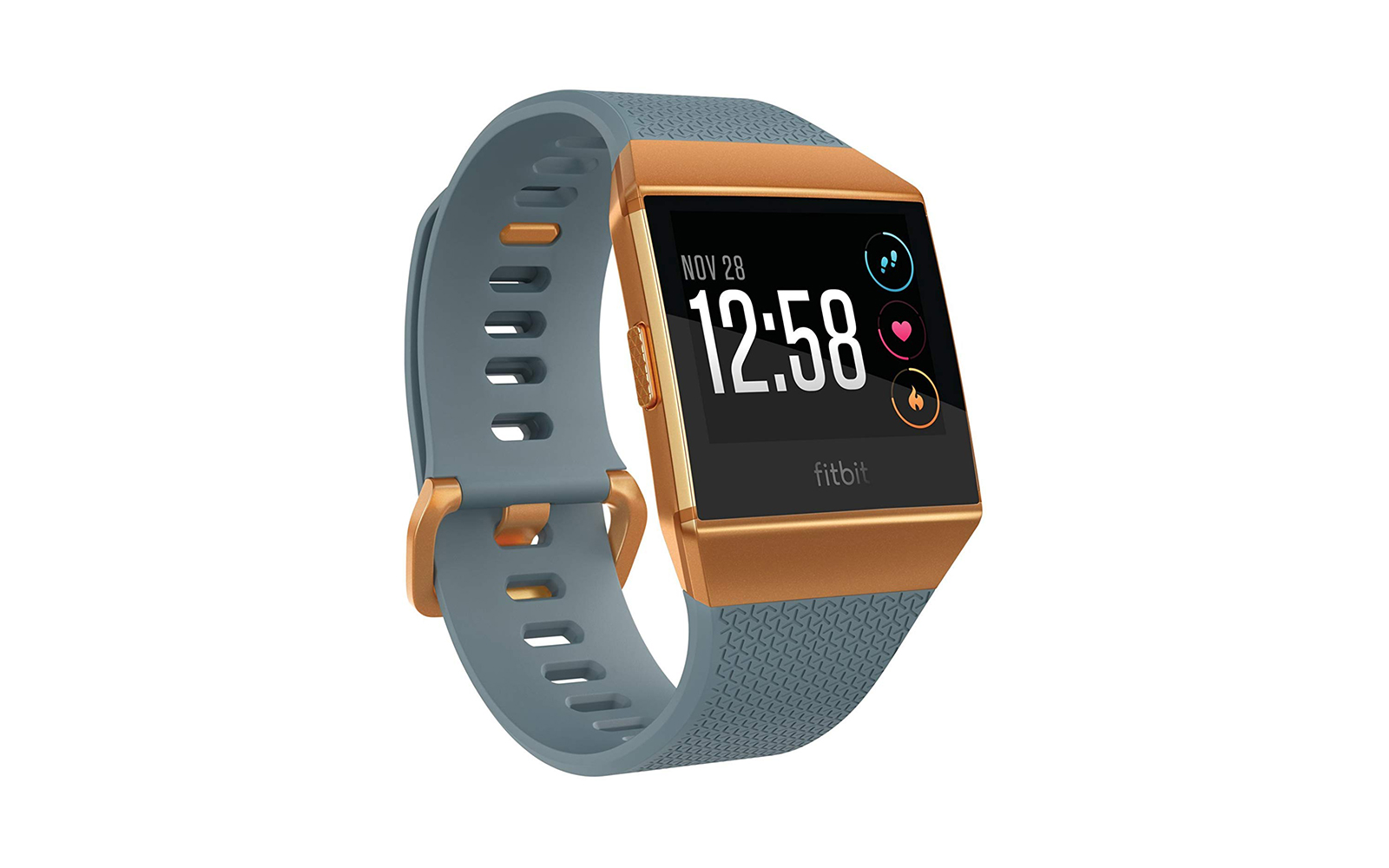 Fitbit Ionic GPS Smart Watch, Slate Blue/Burnt Orange