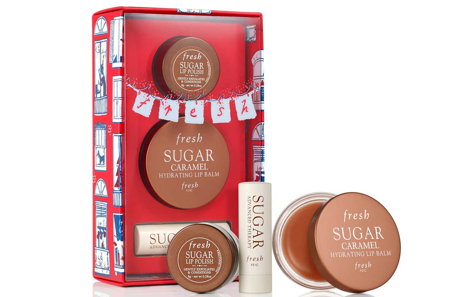 Fresh Sugar Lip Scrub and Balm Gift Set