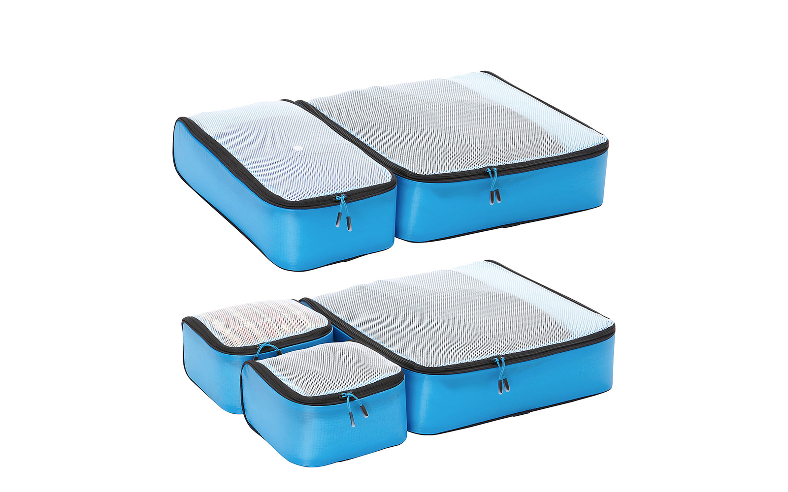 Hyper-Lite Packing Cubes - Super Packer 5pc Set