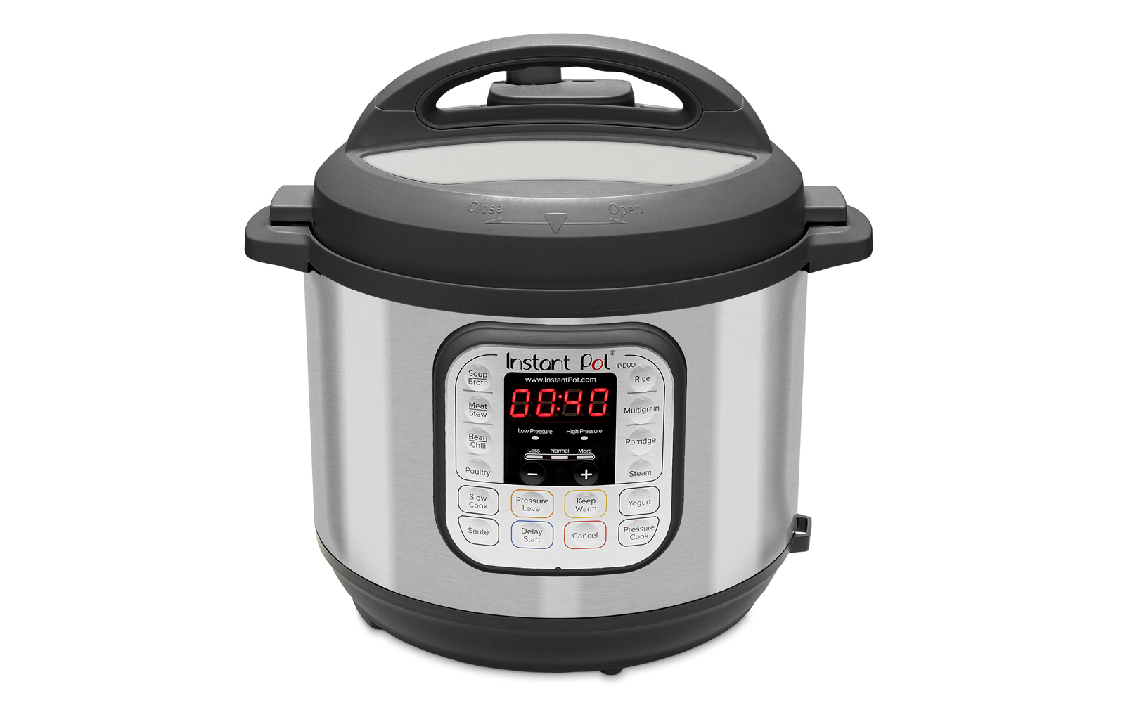 Instant Pot DUO60 6 Qt 7-in-1 Multi-Use Programmable Pressure Cooker, Slow Cooker, Rice Cooker, Sauté, Steamer, Yogurt Maker and Warmer