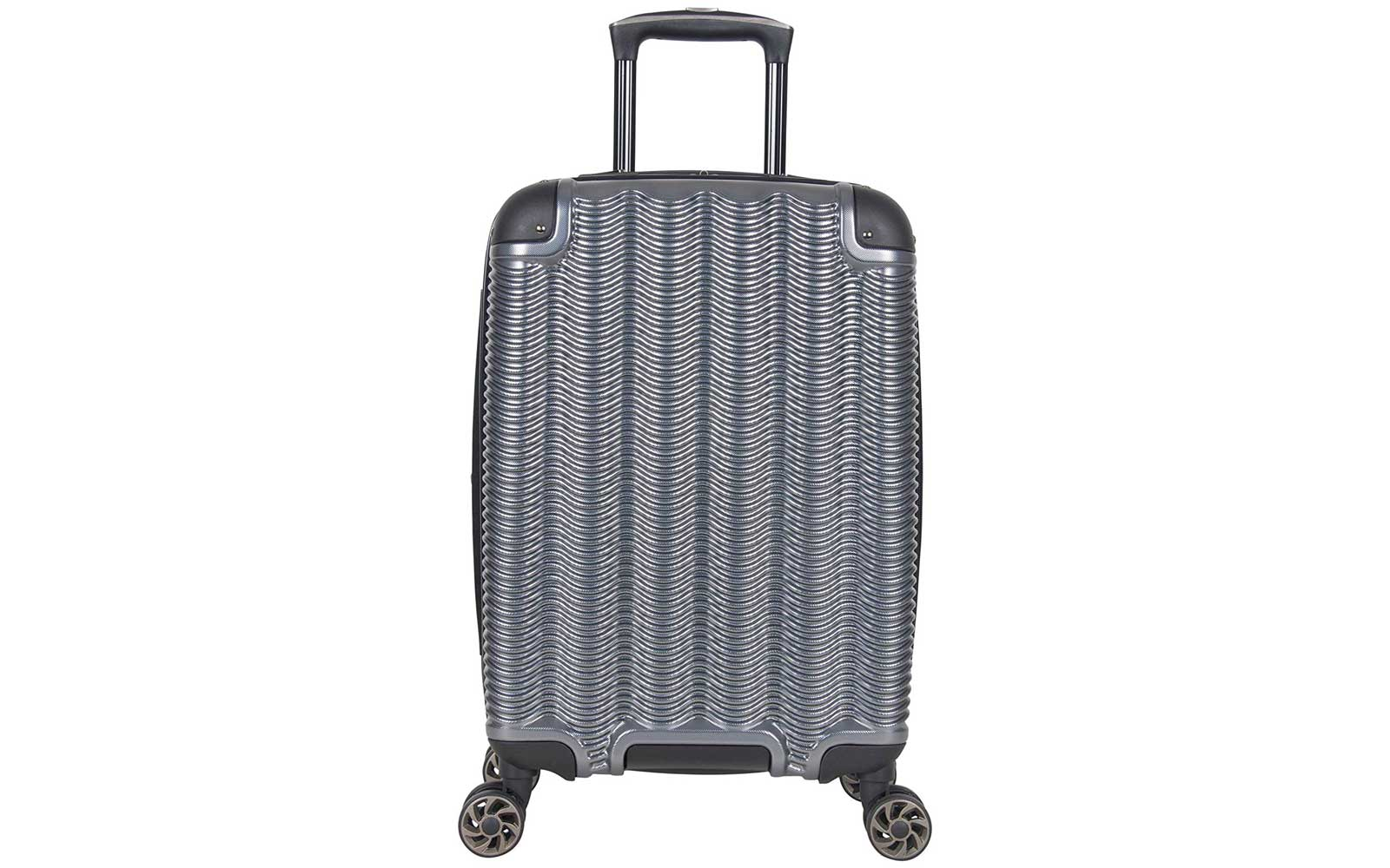 Grey/Silver Kenneth Cole Carry-on Suitcase