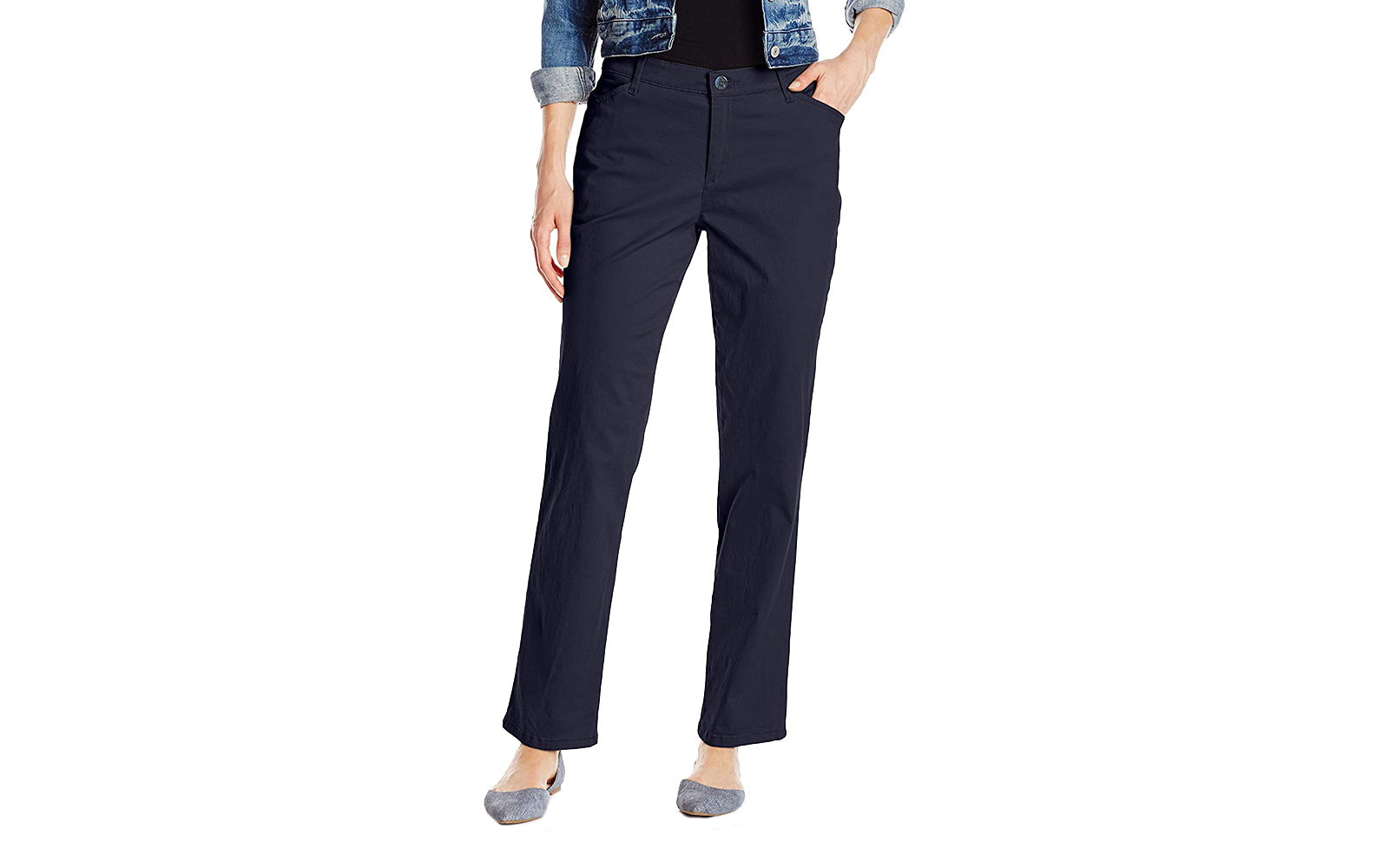 LEE Women's Relaxed Fit All Day Straight Leg Pant Imperial Blue