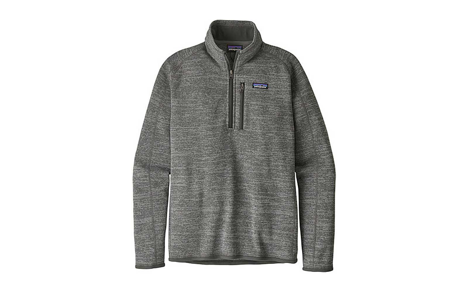 Men's Grey Patagonia 1/4 Zip Jacket