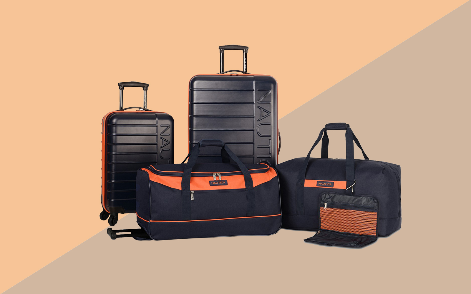 Nautica Sea Tide 5-Pc. Hardside Luggage Set