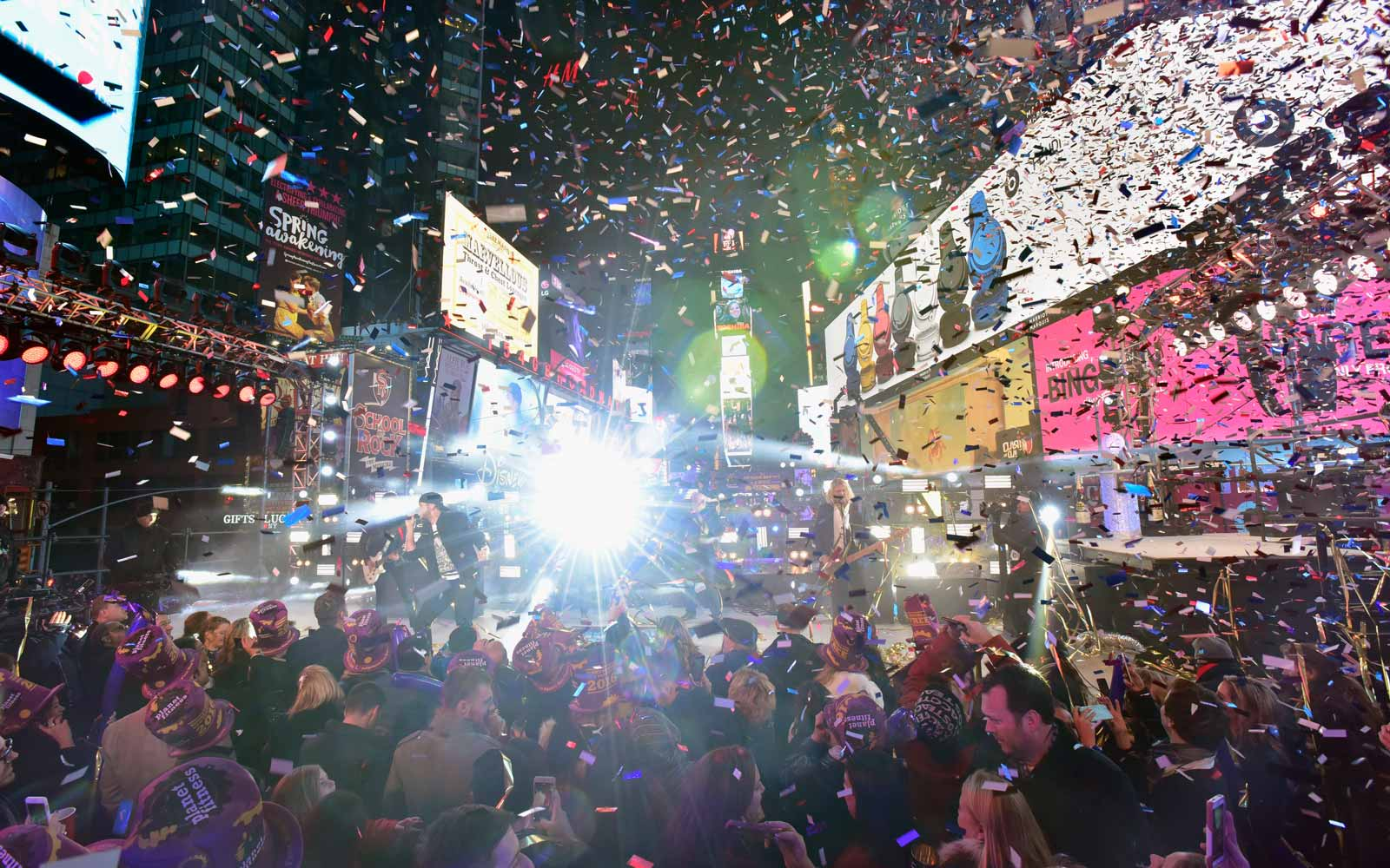New Years Eve in New York City's Times Square