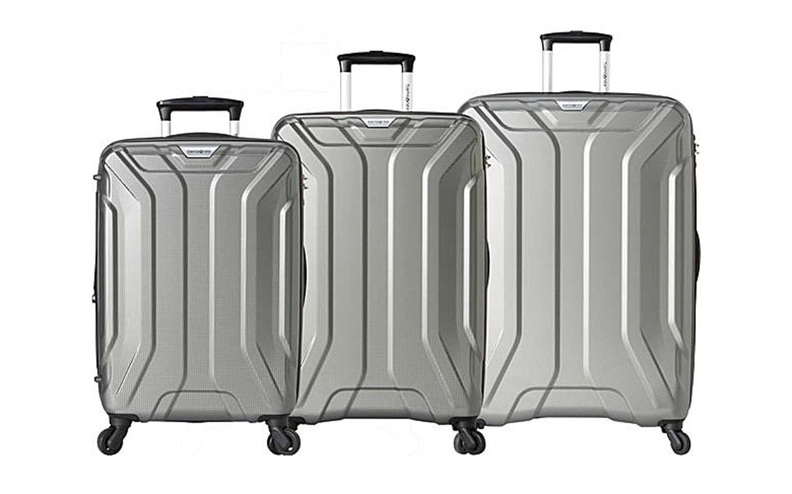 Samsonite Englewood 3 Piece Expandable Hardside Spinner Luggage Set
