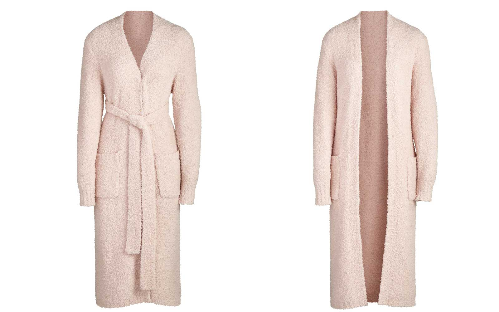 Pink Knit Bathrobe