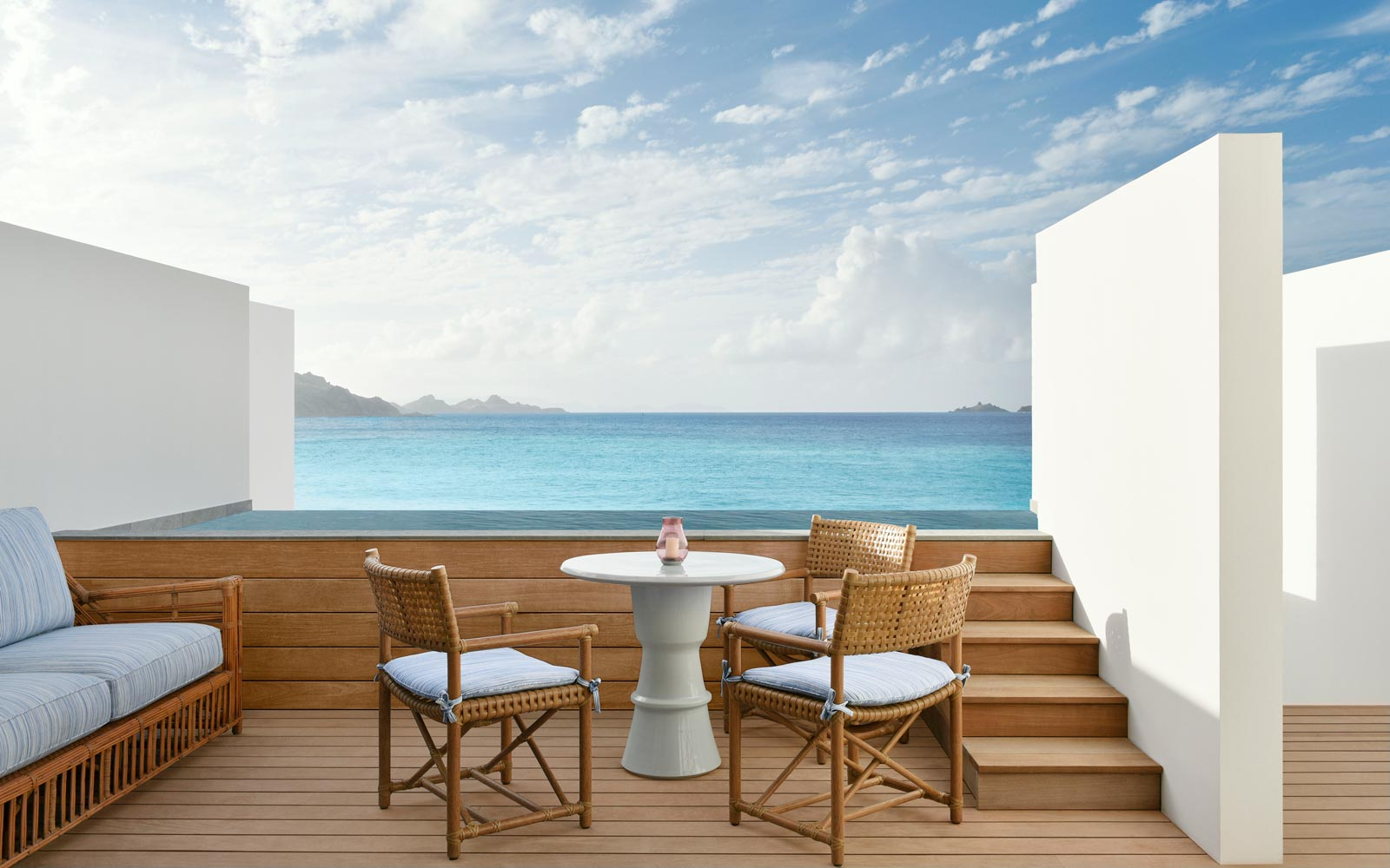 Cheval Blanc resort in St Barth