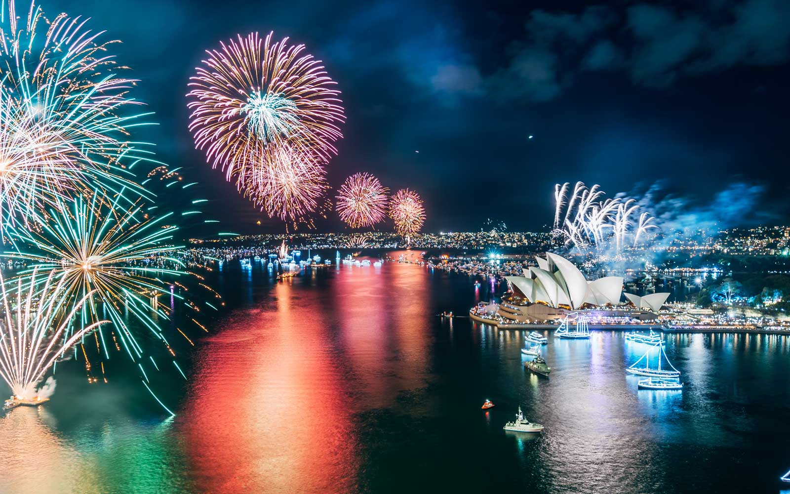 New Year's Eve fireworks in Sydney, Australia