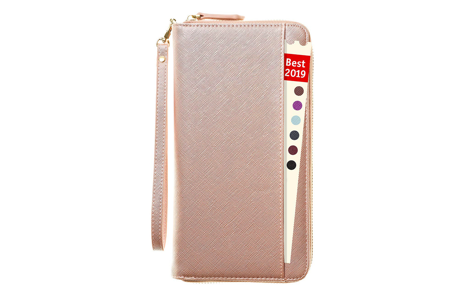 Apadi RFID Blocking Slim Zip Wallet