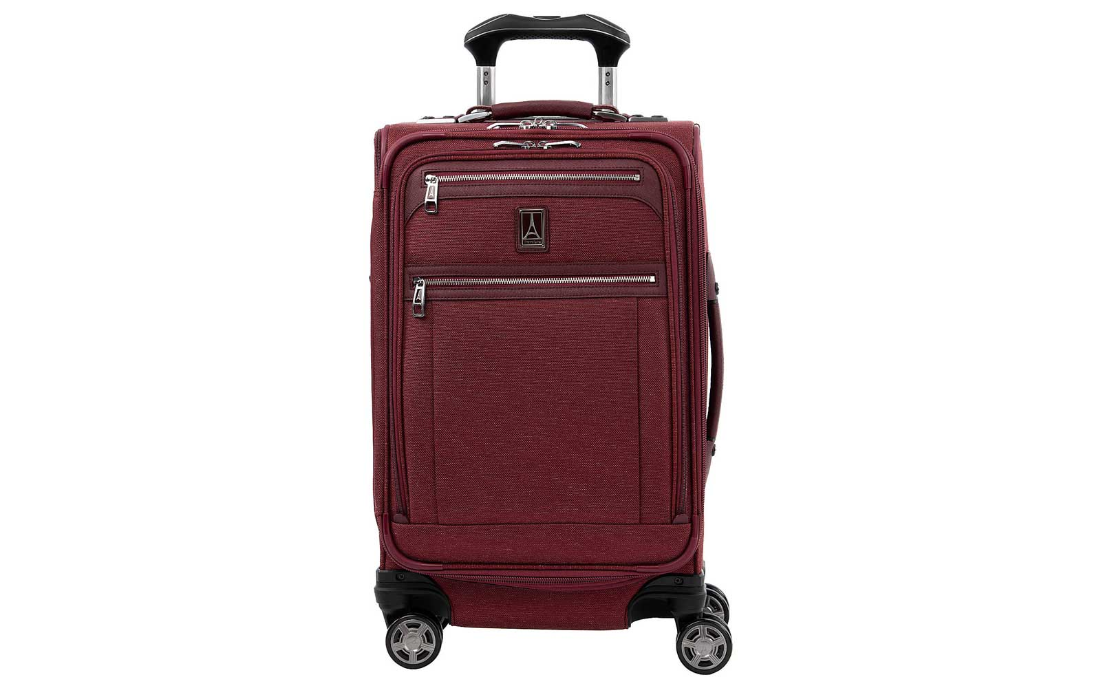 Red Travelpro Softside Carry-on Suitcase