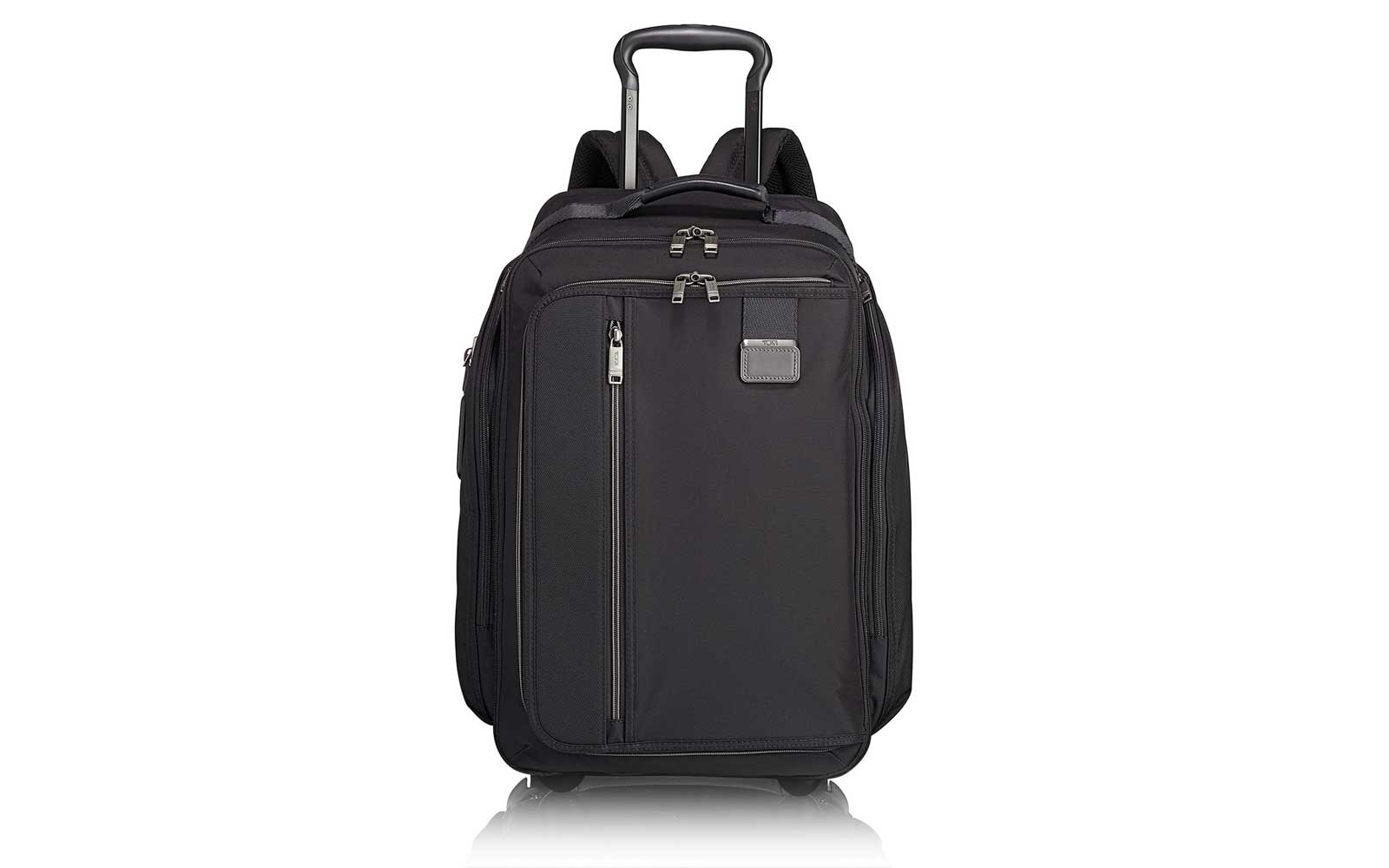 Tumi Black Rolling Backpack