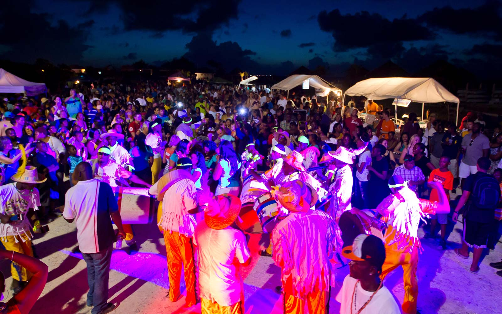 Junkanoo festival in the Turks & Caicos