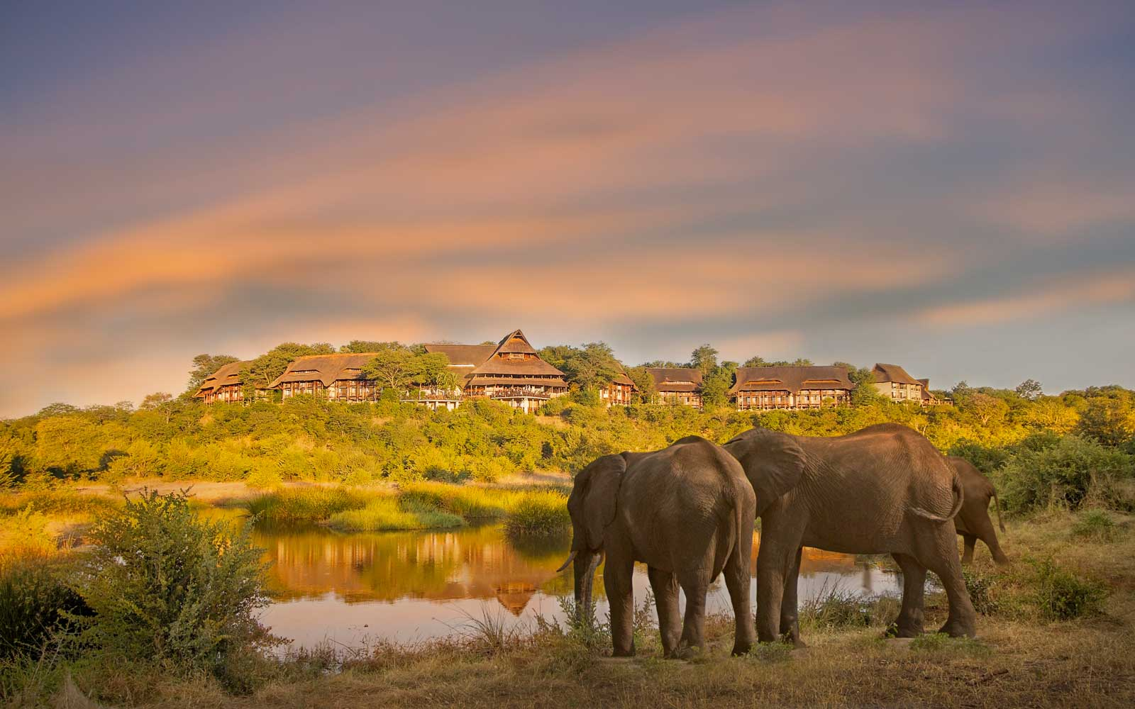 View of the Victoria Falls Safari Lodge
