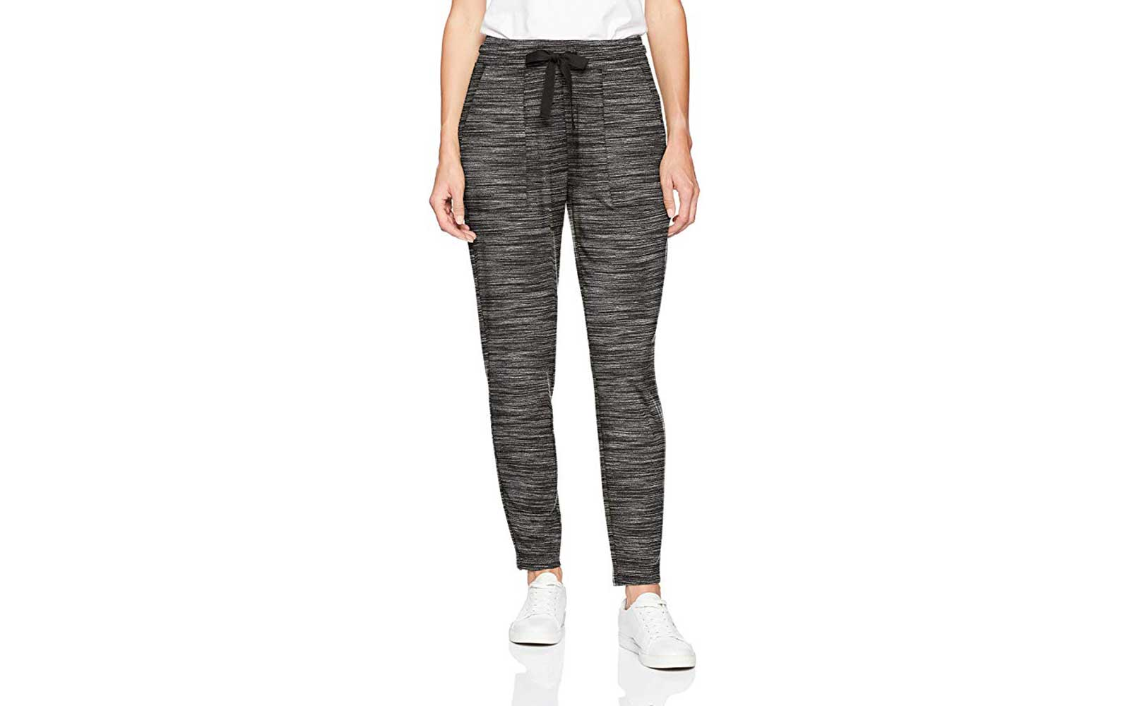 Grey and Black Women's Joggers