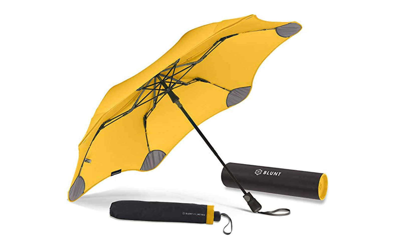 Yellow Travel Umbrella